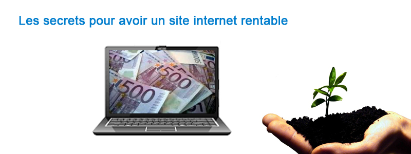 site internet rentable